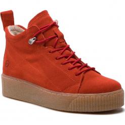 Sneakersy TAMARIS - 1-25258-31 Fire 686. Czerwone sneakersy damskie Tamaris, ze skóry. Za 279,90 zł.