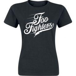 Foo Fighters Logo Koszulka damska czarny. Czarne bluzki asymetryczne Foo Fighters, xl. Za 74,90 zł.