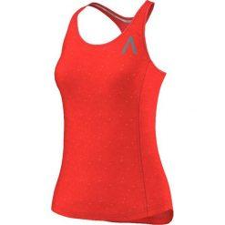 Bluzki asymetryczne: Adidas Koszulka damska Aktiv Tank pomarańczowy r. M (S09975)