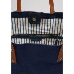 Shopper bag damskie: Liebeskind Berlin VENEZIA LIEBE SHOPPER Torba na zakupy ink blue with toffee