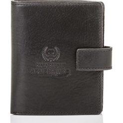 Czarny portfel męski Paolo Peruzzi SLIM 910-PP. Czarne portfele męskie Pakamera, z materiału. Za 99,00 zł.