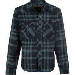 Brandit Checkshirt Koszula czarny/zielony. Białe koszule męskie na spinki marki Brandit, l, z aplikacjami, z bawełny, z długim rękawem. Za 121,90 zł.