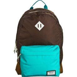 """Plecaki męskie: Plecak """"Kettle Pack"""" w kolorze brązowo-turkusowym – 30 x 45 x 15 cm"""