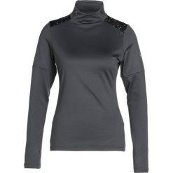 ASICS LITESHOW WINTER Koszulka sportowa dark grey. Szare topy sportowe damskie Asics, xs, z elastanu. W wyprzedaży za 158,95 zł.