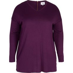 Swetry rozpinane damskie: Sweter w kolorze śliwkowym