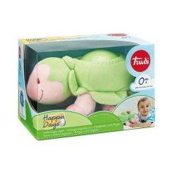 Przytulanki i maskotki: Trudi – Pluszowy świecący żółwik z projektorem 28335- przytulanka dla niemowląt