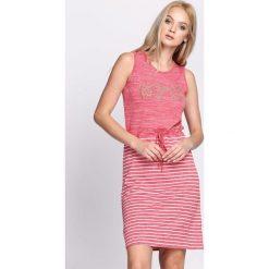 Sukienki hiszpanki: Czerwona Sukienka Climate Change