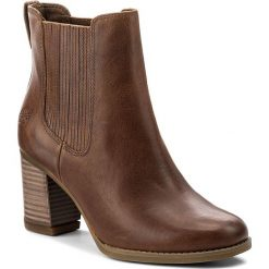 Buty zimowe damskie: Botki TIMBERLAND - Atlantic Heights Che A1976 Brown