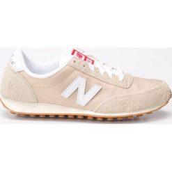 New Balance - Buty. Szare buty sportowe damskie New Balance, z materiału. W wyprzedaży za 179,90 zł.