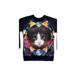 Bluzy rozpinane damskie: Bluza COSMIC CAT