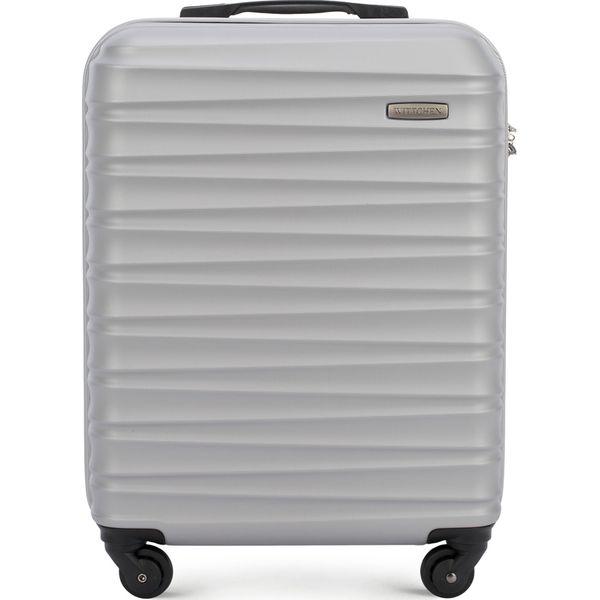 20558de8f7146 Walizka kabinowa 56-3A-311-01 - Szare walizki Wittchen, bez wzorów ...