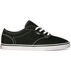 Vans Trampki Atwood Low (Canvas) Black/White 36.5. Szare trampki i tenisówki damskie marki Vans, z gumy, na sznurówki. W wyprzedaży za 148,00 zł.
