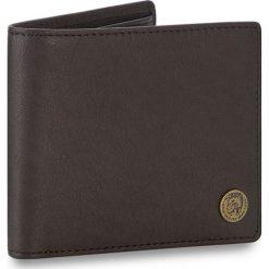 Duży Portfel Męski DIESEL - Hiresh X04381 PR013 T8013. Czarne portfele męskie Diesel, z nubiku. W wyprzedaży za 279,00 zł.