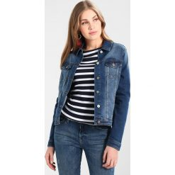 Bomberki damskie: Springfield CAZADORA  Kurtka jeansowa blues