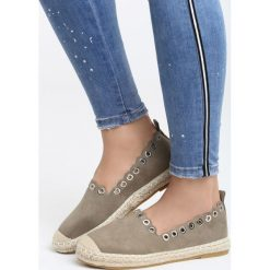 Espadryle damskie: Khaki Espadryle Say Yes