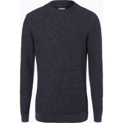 Selected - Sweter męski, niebieski. Niebieskie swetry klasyczne męskie Selected, m, z bawełny. Za 179,95 zł.