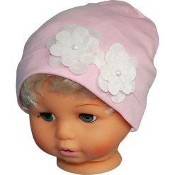 Czapka dziecięca W-72. Różowe czapeczki niemowlęce Proman. Za 24,46 zł.