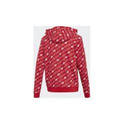 Bluzy Dziecko adidas  Bluza z kapturem Trefoil Monogram. Czarne bluzy chłopięce rozpinane marki Nike. Za 229,00 zł.