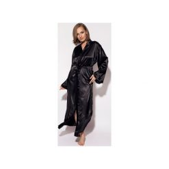 Szlafroki kimona damskie: Szlafrok Luna czarny