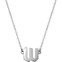 Naszyjniki damskie: Srebrny naszyjnik – (D)40 cm