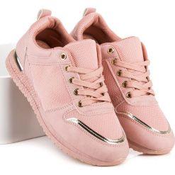 BUTY SPORTOWE DAMSKIE - odcienie różu. Niebieskie buty sportowe damskie marki CZASNABUTY. Za 69,90 zł.