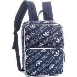Plecak adidas - DH3365  Convay/White. Niebieskie plecaki męskie Adidas, z materiału, sportowe. W wyprzedaży za 119,00 zł.