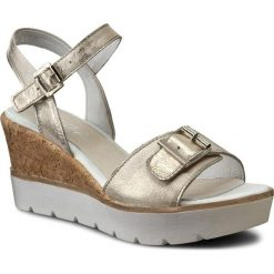 Rzymianki damskie: Sandały SIMEN – 0475 K.Złoto