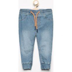 Odzież niemowlęca: Jeansowe spodnie jogger - Niebieski