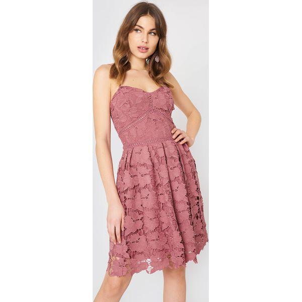 a7c6a0c06b Rut Circle Sukienka z koronki - Pink - Różowe sukienki damskie ...