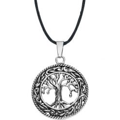 Tree of Life Wisiorek standard. Szare wisiorki damskie Tree of Life, ze stali. Za 62,90 zł.