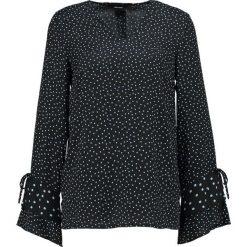 Bluzki asymetryczne: Vero Moda Petite VMDRAGANA DRAW Bluzka black