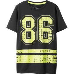 Odzież chłopięca: Shirt sportowy bonprix czarny z nadrukiem