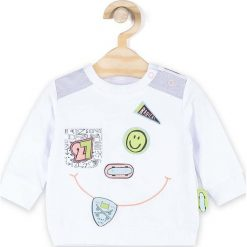 Odzież chłopięca: Coccodrillo – Longsleeve dziecięcy 62-86 cm