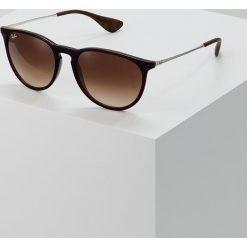 RayBan ERIKA Okulary przeciwsłoneczne brown gradient. Szare okulary przeciwsłoneczne damskie lenonki marki Ray-Ban, z materiału. Za 549,00 zł.