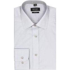 Koszula bexley 2499 długi rękaw slim fit szary. Szare koszule męskie jeansowe marki Recman, m, z aplikacjami, z klasycznym kołnierzykiem, z długim rękawem. Za 129,00 zł.