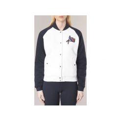 Sukienki krótkie Tommy Hilfiger  CAMILA-HOODED-DRESS. Białe sukienki mini marki TOMMY HILFIGER, l, z krótkim rękawem. Za 527,20 zł.