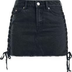 Black Premium by EMP The Betrayal Spódnica czarny. Czarne spódniczki jeansowe marki Black Premium by EMP, xl. Za 109,90 zł.