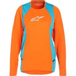 Alpinestars STELLA DROP  Bluzka z długim rękawem bright orange ocean. Brązowe topy sportowe damskie marki Alpinestars, m, z materiału, sportowe, z długim rękawem. Za 269,00 zł.