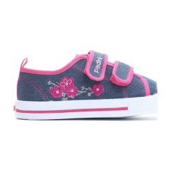 Buty sportowe dziewczęce: Niebiesko-Różowe Trampki Growing Hearts