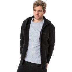 Bluzy męskie: 4f Bluza męska  czarna r. XXL (H4L18-BLM006)
