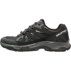 Salomon EFFECT GTX Półbuty trekkingowe phantom/black/dawn blue. Szare buty trekkingowe damskie marki Salomon, z gore-texu, na sznurówki, outdoorowe, gore-tex. Za 489,00 zł.