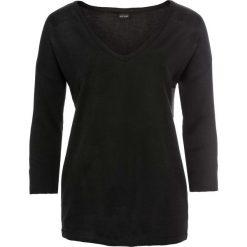 Sweter bonprix czarny. Czarne swetry oversize damskie bonprix. Za 79,99 zł.