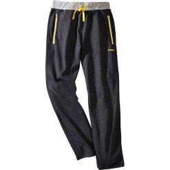 Spodnie dresowe Regular Fit bonprix antracytowy melanż. Czarne spodnie dresowe męskie marki New Balance, na jesień, z dresówki. Za 69,99 zł.