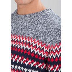 Swetry klasyczne męskie: Shine Original Sweter dark navy