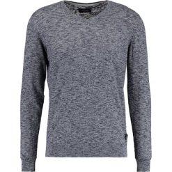 Swetry klasyczne męskie: Teddy Smith PASKO Sweter navy chine