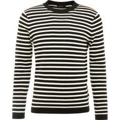 J.LINDEBERG IBSEN STRIPE COMBED Sweter black. Czarne swetry klasyczne męskie J.LINDEBERG, m, z bawełny. Za 459,00 zł.