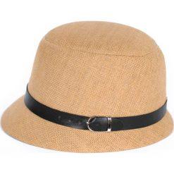 Kapelusz damski Brytyjski styl brązowy. Brązowe kapelusze damskie marki Art of Polo. Za 40,31 zł.