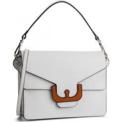 Torebka COCCINELLE - DM7 Ambrine Graphic E1 DM7 12 01 01 Blanche H10. Białe torebki klasyczne damskie Coccinelle, ze skóry, zdobione. Za 1649,90 zł.