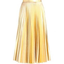 Spódniczki trapezowe: Topshop Petite Spódnica trapezowa gold