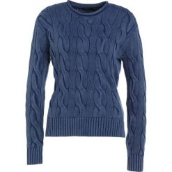 Swetry klasyczne damskie: Polo Ralph Lauren BOXY LONG SLEEVE Sweter indigo